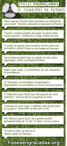 Frases Engracadas Dos Jogadores De Futebol Frases Poesias